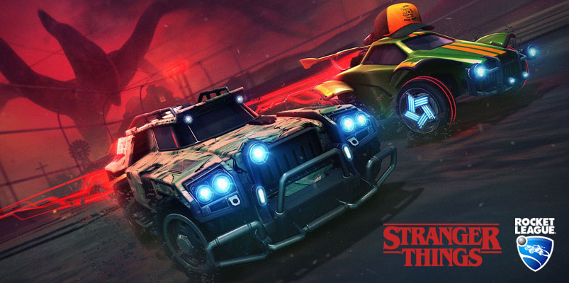 Rocket League x Stranger Things para nuevo evento de Halloween