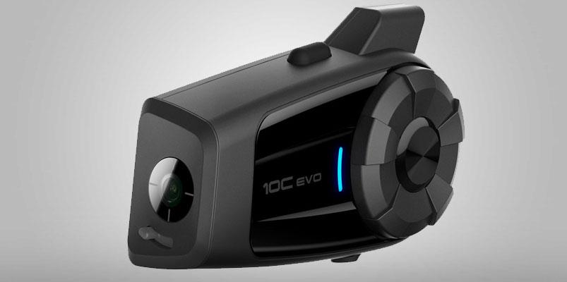 Sena 10C EVO combina grabación 4K y Bluetooth para tu casco
