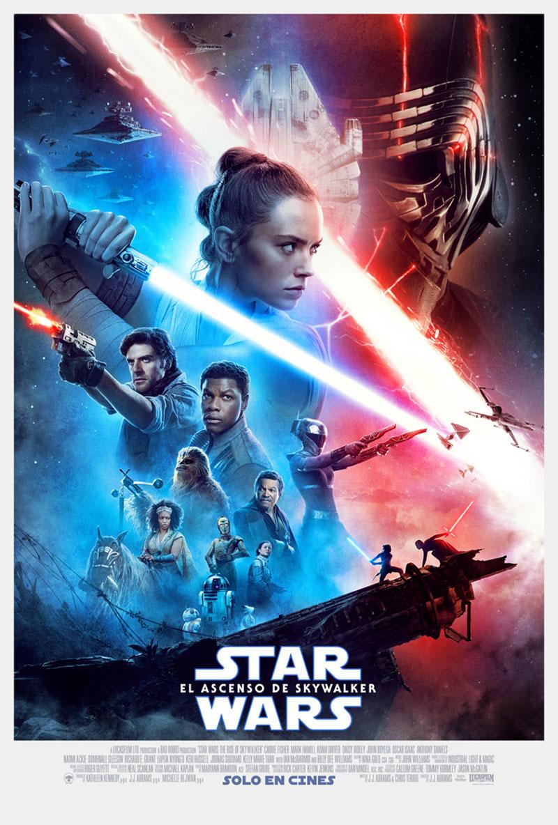 Star Wars El Ascenso de Skywalker poster