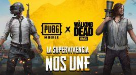 Personajes de The Walking Dead están ahora en PUBG MOBILE