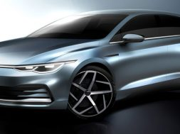 Volkswagen Golf 2020 bocetos