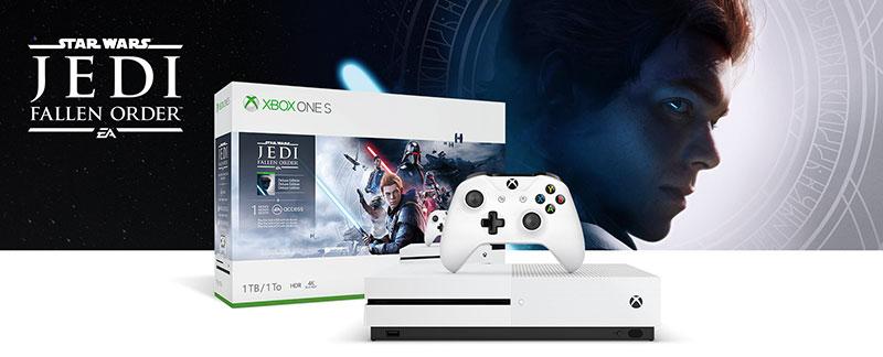 Xbox One S Star Wars Jedi Fallen Order
