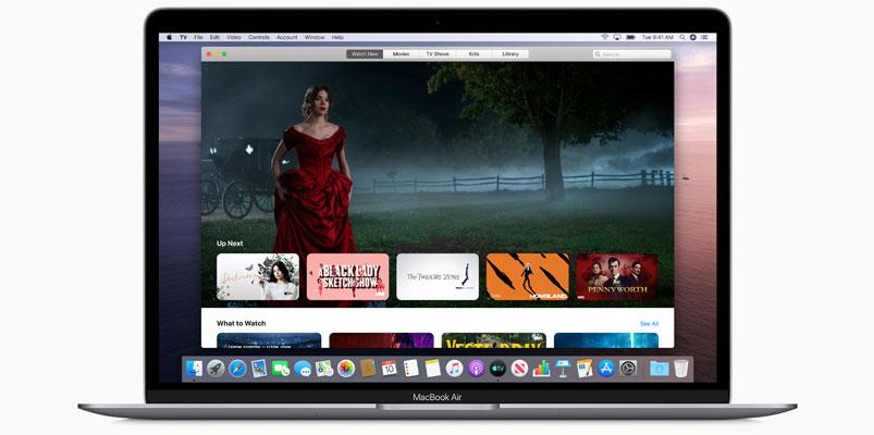 macOS Catalina Apple TV