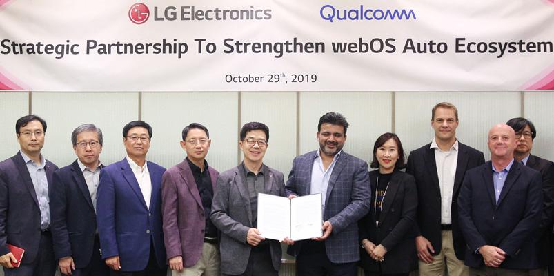 LG y Qualcomm apuestan fuertemente por los vehículos conectados
