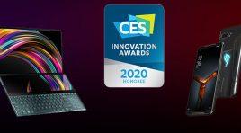 ASUS y ASUS ROG reciben Premios a la Innovación CES 2020