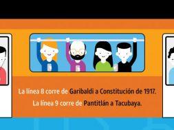 AT&T Mexico Metro Linea 9 Linea 8