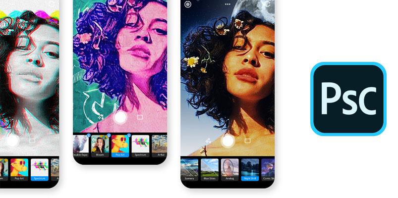 Adobe presenta su nueva aplicación Photoshop Camera para móviles