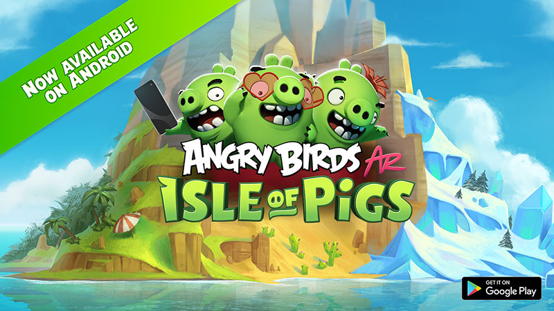 Angry Birds AR Isle of Pigs Android