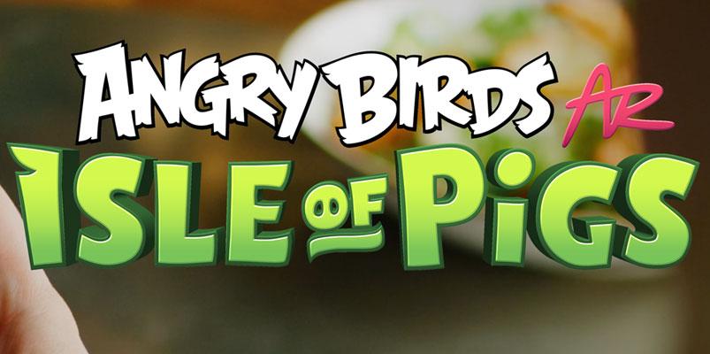 Juega Angry Birds en realidad aumentada desde tu Android