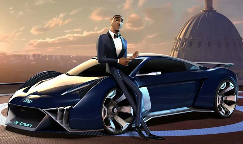 Audi RSQ e-tron Lance Sterling