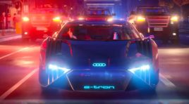 Audi RSQ e-tron demostrará su poderío en Spies in Disguise