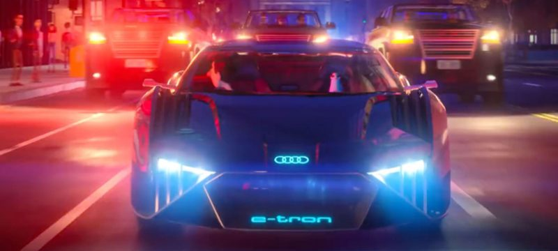 Audi RSQ e-tron Spies in Disguise