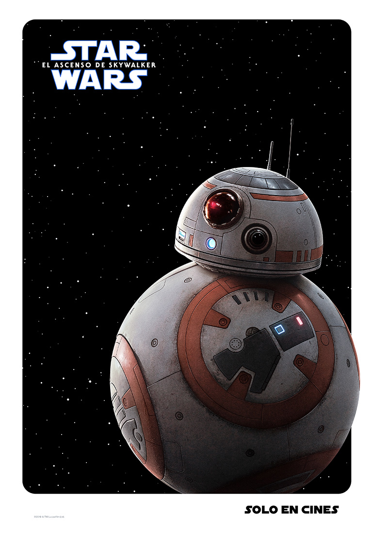 BB8 Star Wars poster