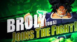 Broly (DBS) el contendiente más fuerte en Dragon Ball FighterZ