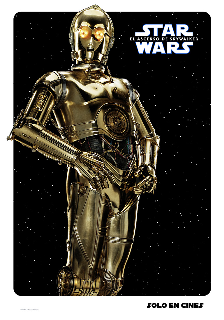 C-3P0 Star Wars poster