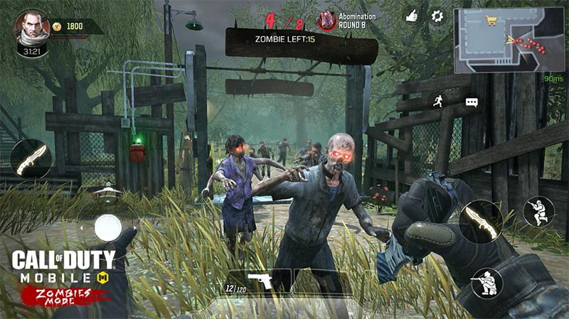 Call of Duty Mobile Modo Zombies partida
