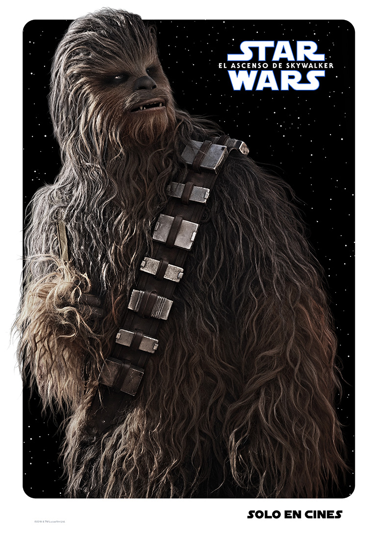 Chewbacca Star Wars poster