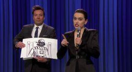 La historia de Star Wars resumida en el rap de Daisy Ridley