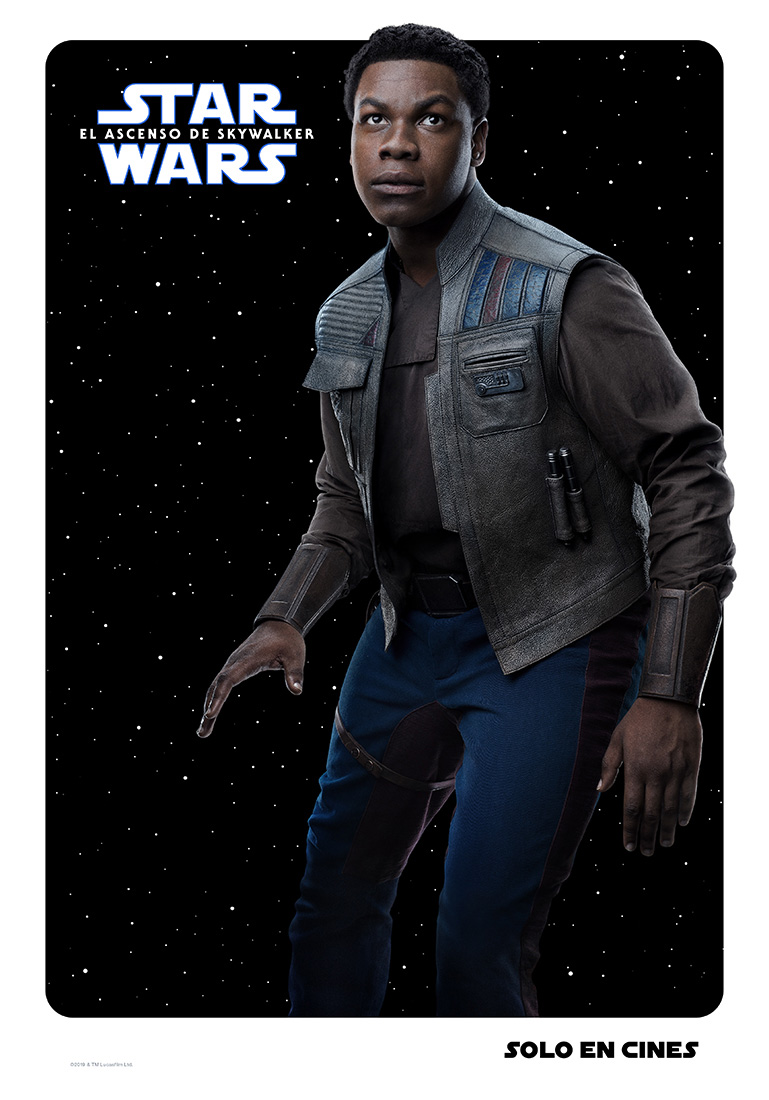 Finn Star Wars poster