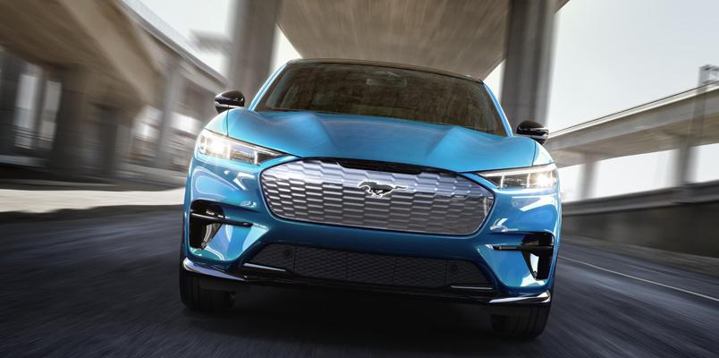 La tecnología dentro del nuevo Ford Mustang Mach-E