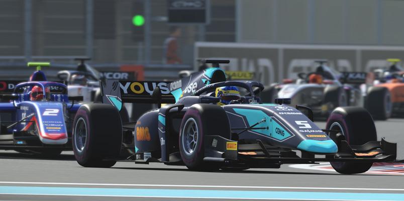La Formula 2 Championship ya se corre en el juego F1 2019