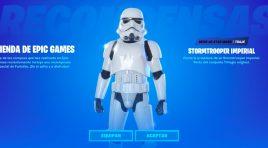 Llega el skin de Stormtrooper Imperial a Fortnite y está increíble