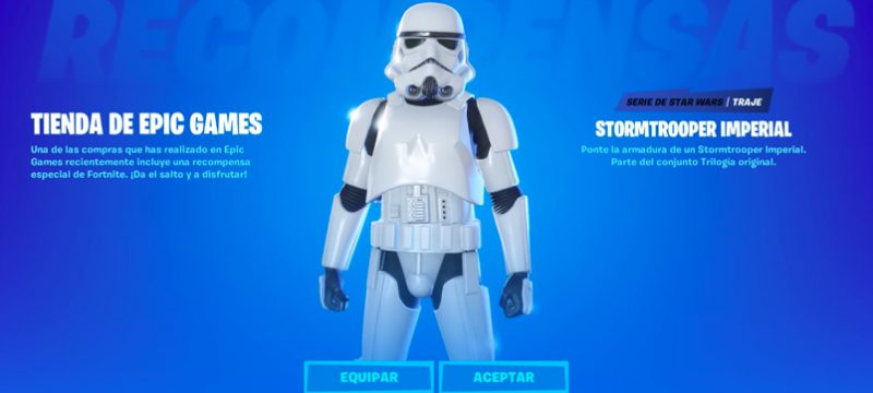 Fortnite Stormtrooper Imperial Skin
