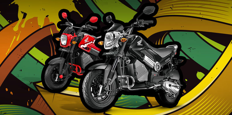 Honda NAVi, la nueva motocicleta para jóvenes llega a México