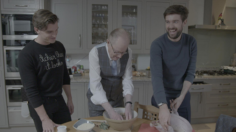 Jack Whitehall Christmas With My Father Netflix diciembre de 2019