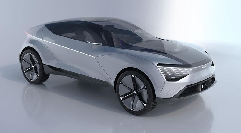 KIA Futuron Concept Cara Tigre