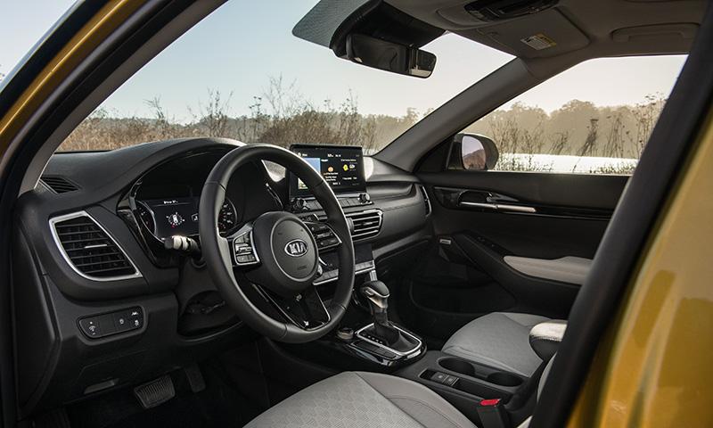 KIA Seltos LA Auto interior