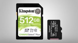 Kingston Canvas Select Plus, ideales para smartphones y cámaras