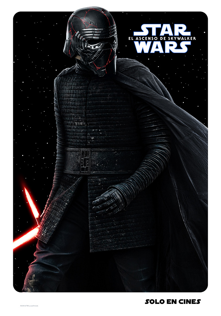 Kylo Star Wars poster