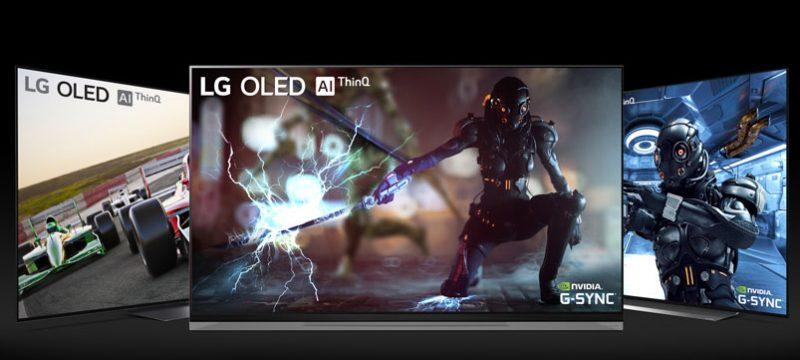 LG OLED TV 2019 NVIDIA G SYNC