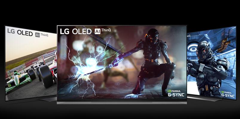 Estos son los LG OLED TV 2019 compatibles con NVIDIA G-SYNC