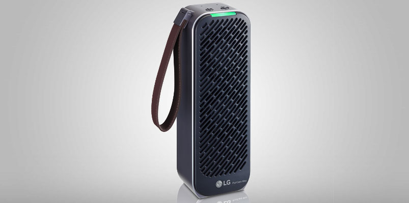 LG PuriCare Mini es el primer purificador de aire portátil del mundo