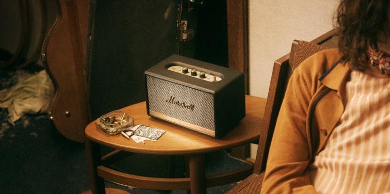 Bocinas y audífonos de Marshall Headphones con descuento