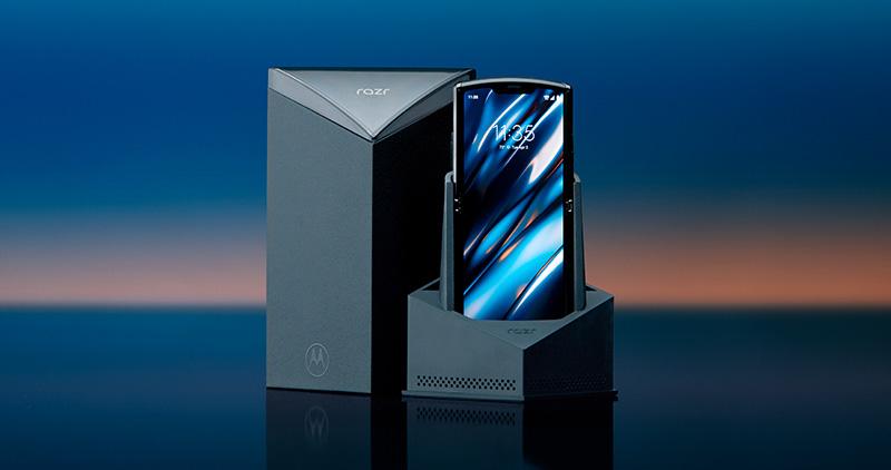 Motorola RAZR plegable caja