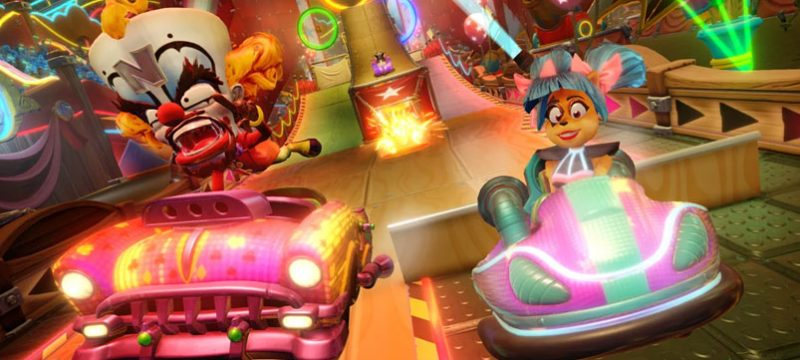 Neon Circus Crash Team Racing Nitro Fueled