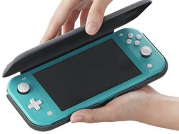 Nintendo Switch Lite Flip Cover Screen Protector