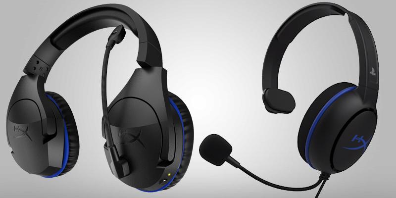 Checa los nuevos audífonos para PlayStation 4 cortesía de HyperX