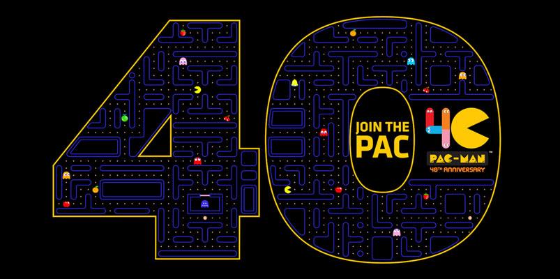 Prepárate para celebrar el 40 aniversario de Pac-Man durante 2020