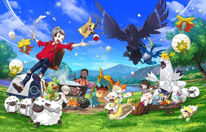 Pokemon Camp Pokemon Sword y Pokemon Shield
