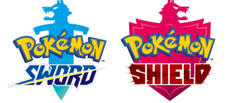 Pokemon Sword y Pokemon Shield logo
