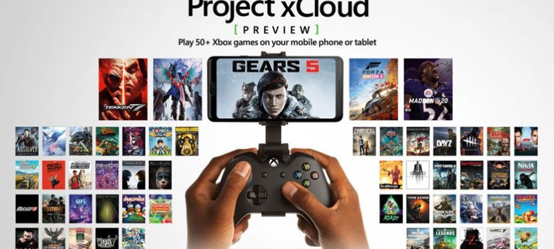 Project xCloud preview 50 juegos
