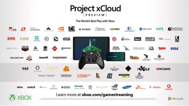 Project xCloud preview Socios