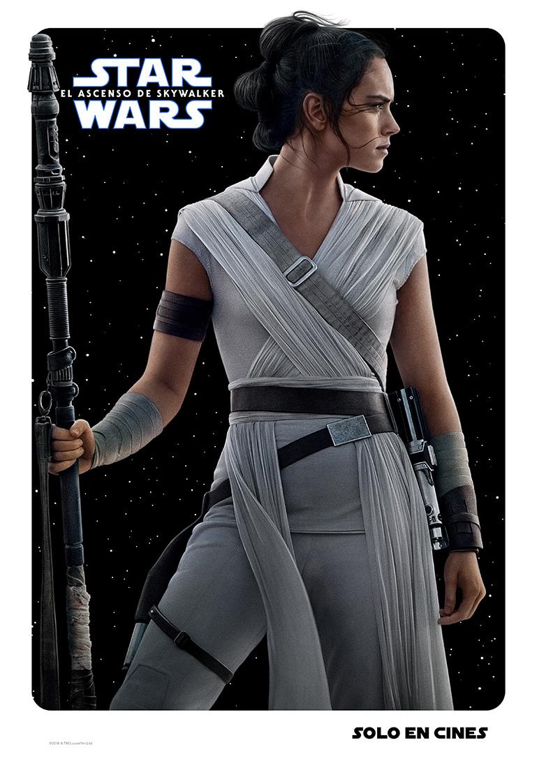 Rey Star Wars poster