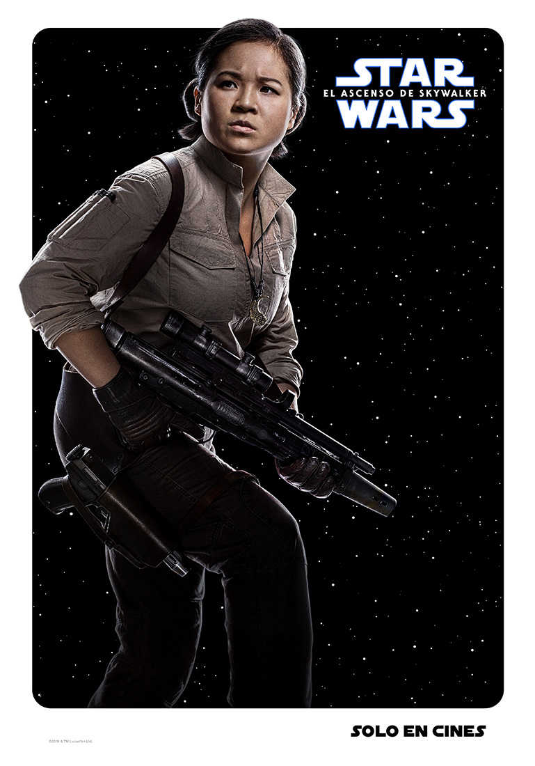 Rose Star Wars poster