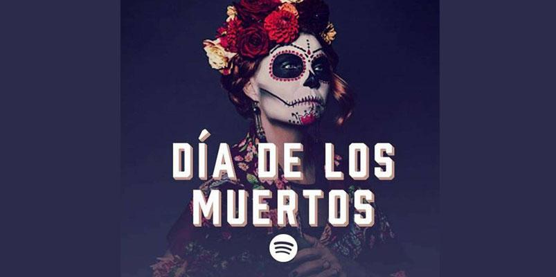 Checa estas playlists de Spotify para celebrar el Día de Muertos