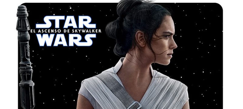 Star Wars The Rise of Skywalker poster personajes